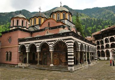 Мелник-Рупите-Рилски манастир