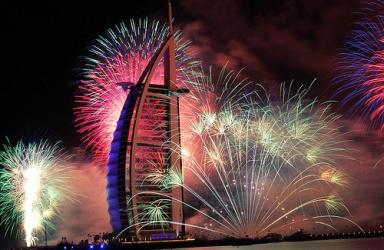 Нова година в Дубай, от Варна