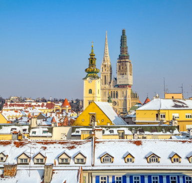 Нова Година 2019 - Загреб, от Варна