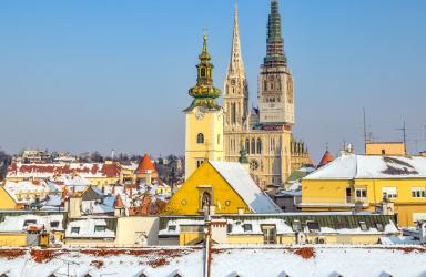 Нова Година 2020 - Загреб, от Варна