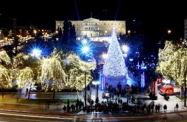Нова Година 2020 - Атина, от Варна