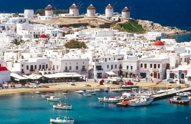 Ранни записвания! Круиз за Великден до Миконос, Патмос, Санторини, Крит + Кушадасъ