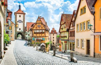 Романтичният път на Бавария с полет от Варна