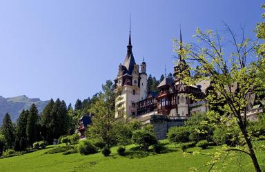 Трансилвански замъци през есента
