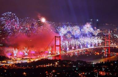 Нова година 2021 в Истанбул